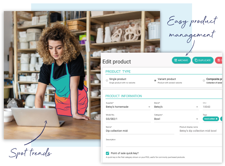 Manage multi-store inventory