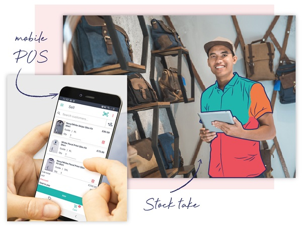 Sell on the go! Saledock point of saledock is designed to work on tablet and mobile